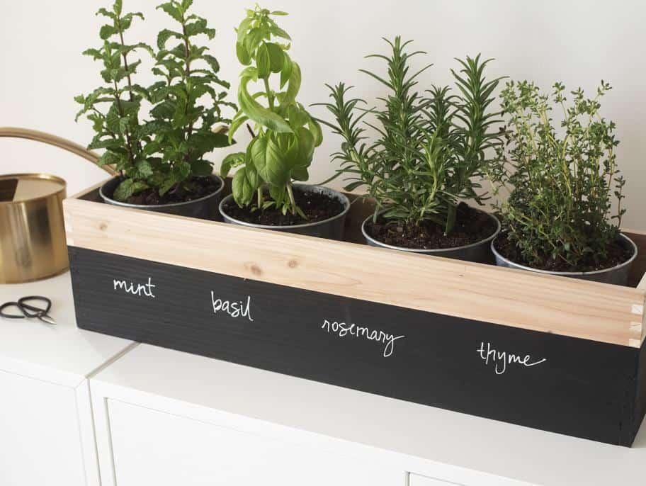 mothers day creative gift ideas: diy herb garden planter