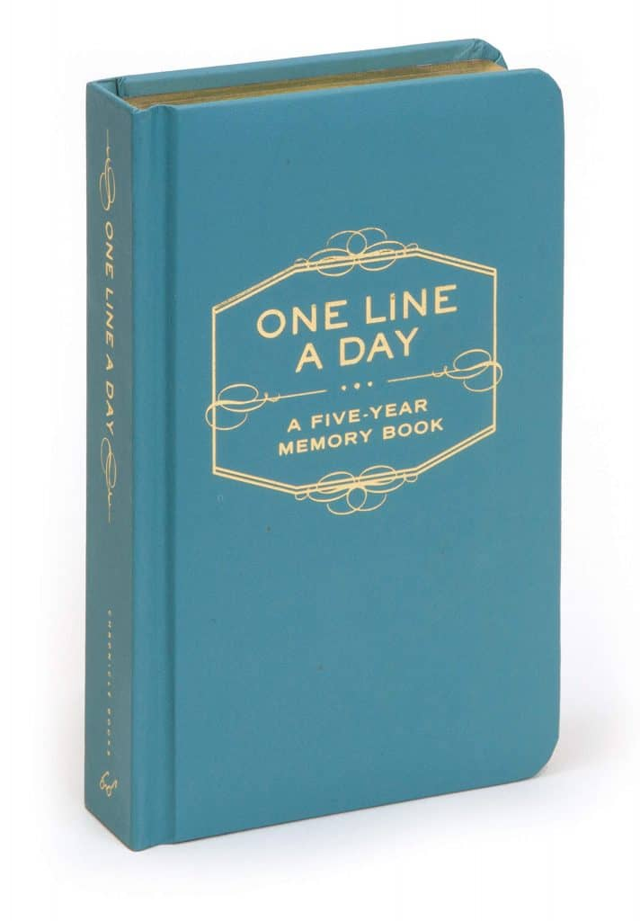 gift for couples: one line a day book