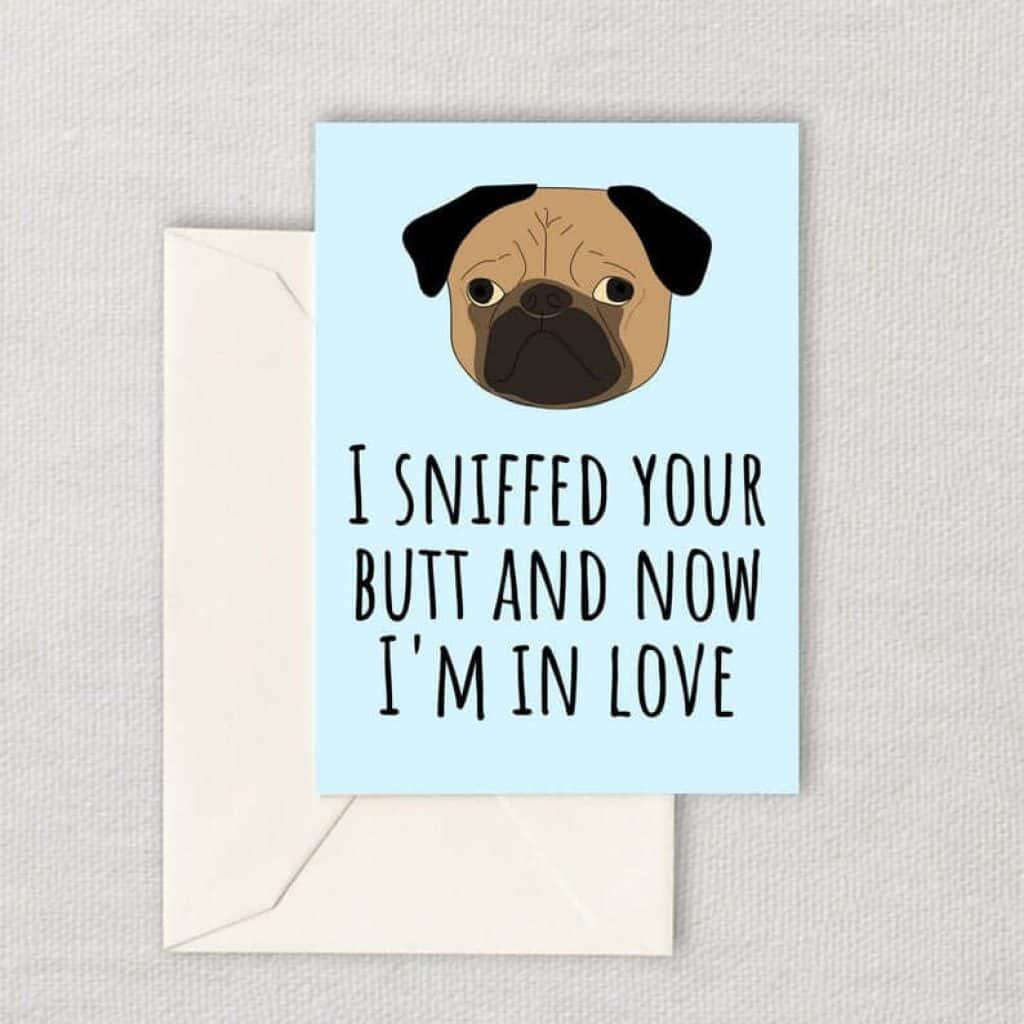 last minute anniversary gift ideas: printable love card