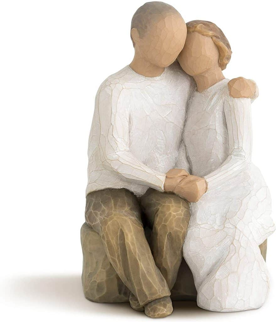 anniversary gifts for parents: willow tree anniversary figure