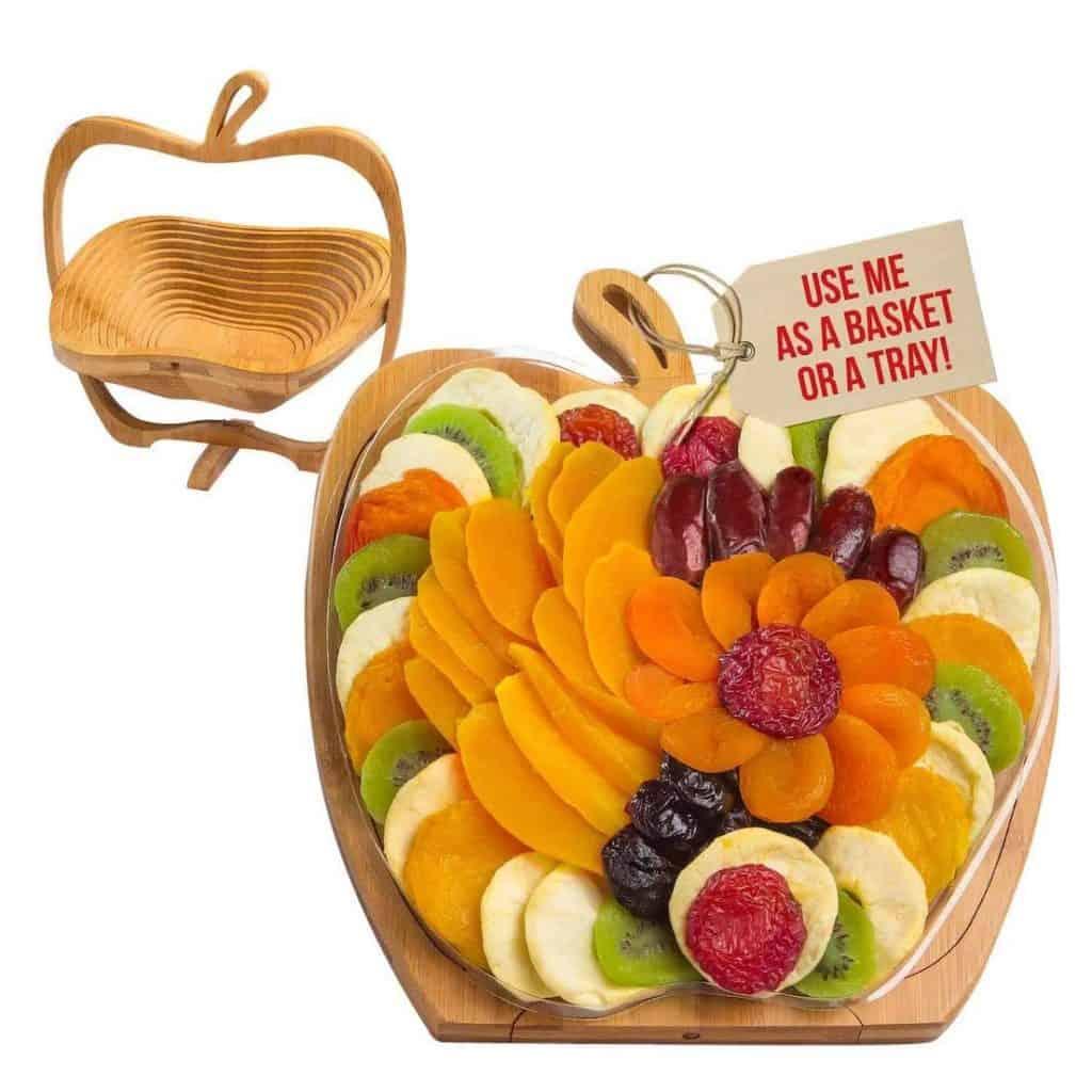Dried Fruit Gift Basket Gift for Mom's Birthday
