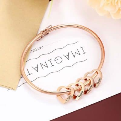 gifts for mothers - Bracelet With Kids Name
