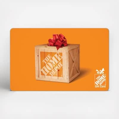 Homedepot Gift Card - presents for mom