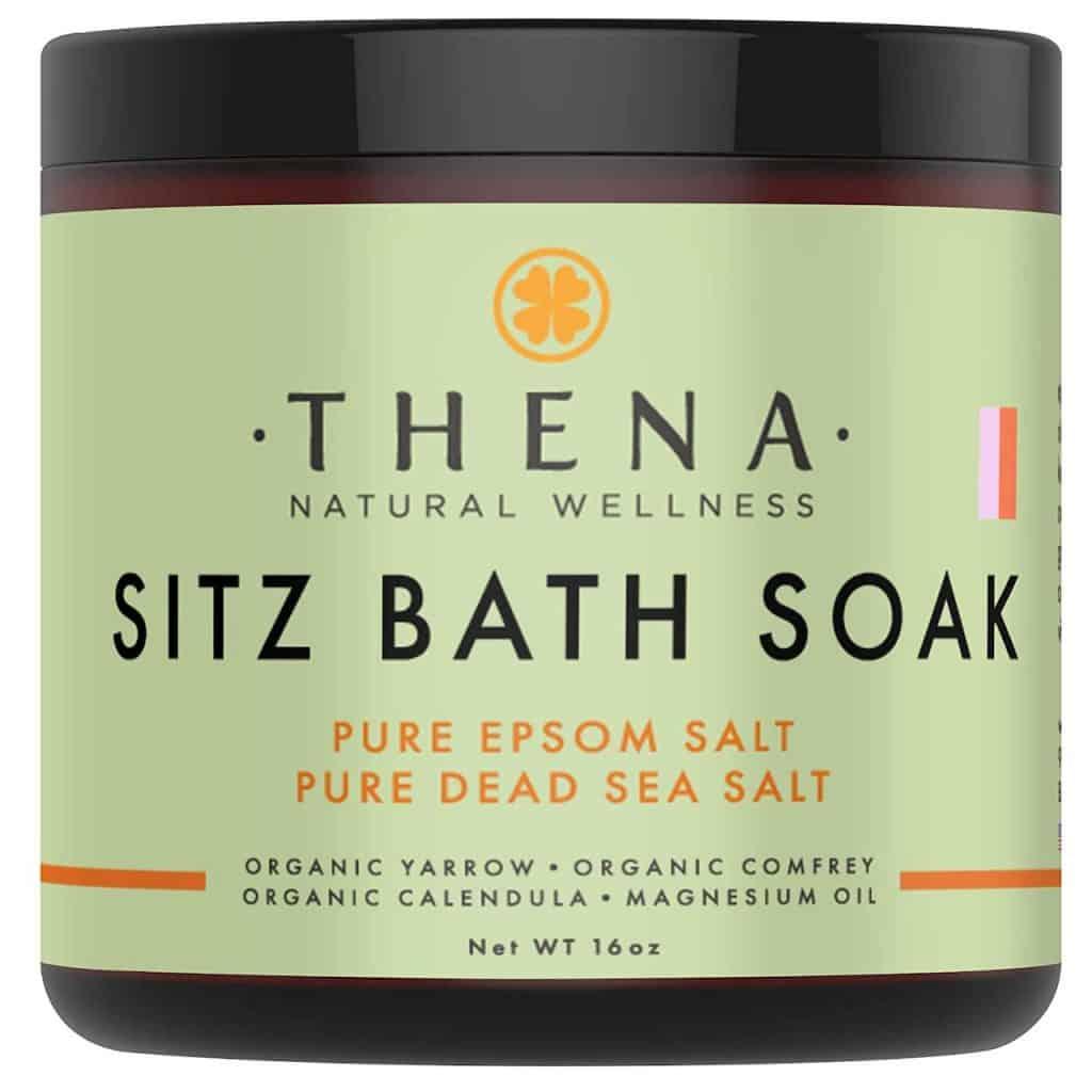 Sitz Bath Soak For Postpartum Care For New Moms