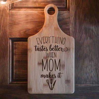 mom gift ideas - Cutting Board