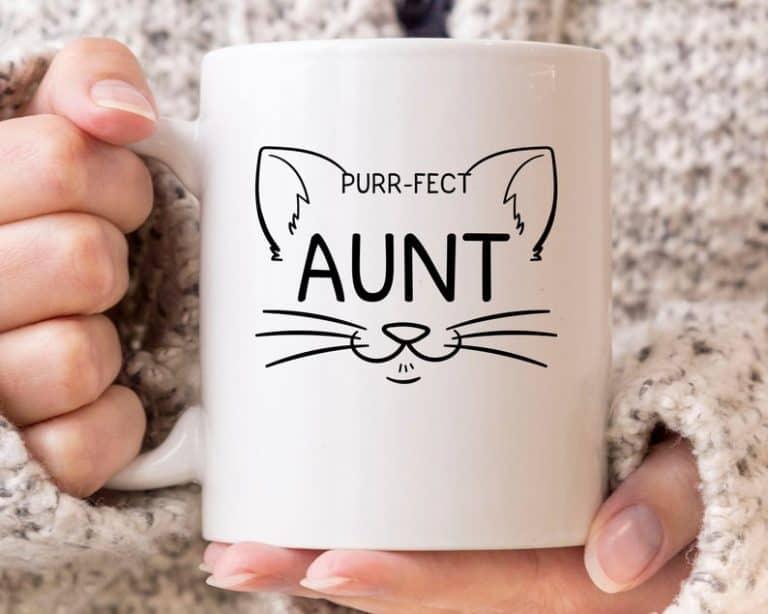mother's day aunt - custom mug