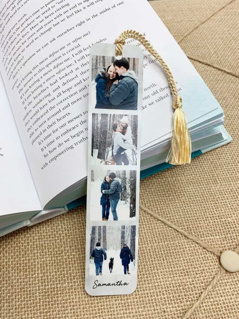 bookmark personalized with photos