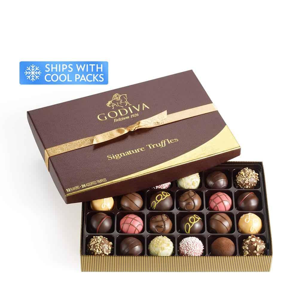 Assorted Chocolate Gift Box - 1 year anniversary gifts for girlfriend