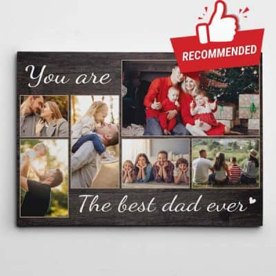 Best Dad Ever Canvas
