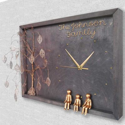 romantic anniversary gifts for her: Clock Wall