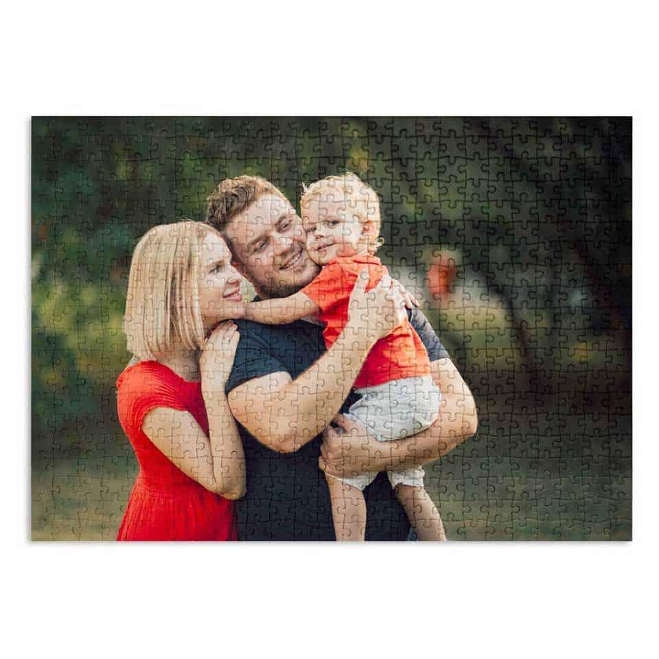 Custom Family Photo Puzzle