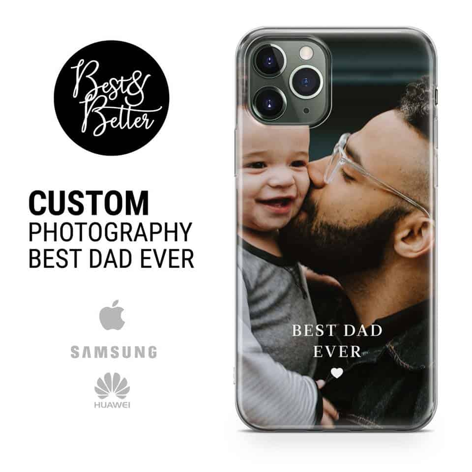 personalized fathers day gifts - Custom Photo Case