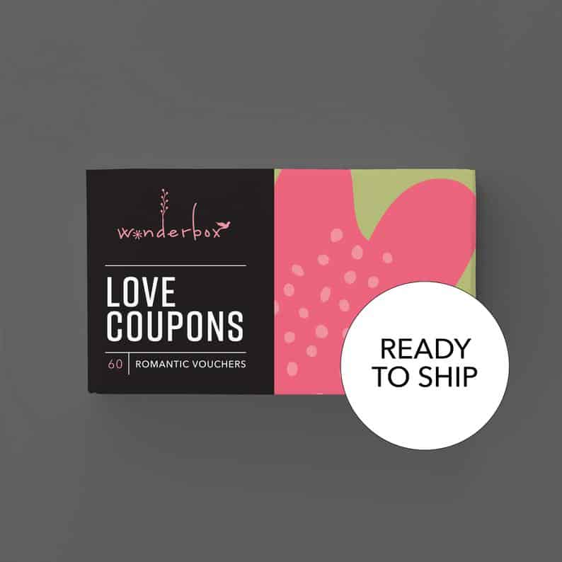 Cute Love Coupon - First Anniversary Gifts for Girlfriend