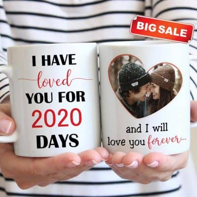 wedding anniversary ideas for her: I Have Loved You Photo Mug