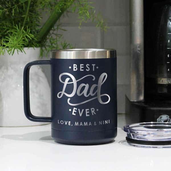 Insulated Coffee Mug - fathers day inexpensive gifts