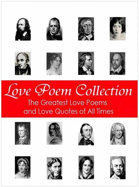 Love Poem Collection - 1 year anniversary gifts for girlfriend