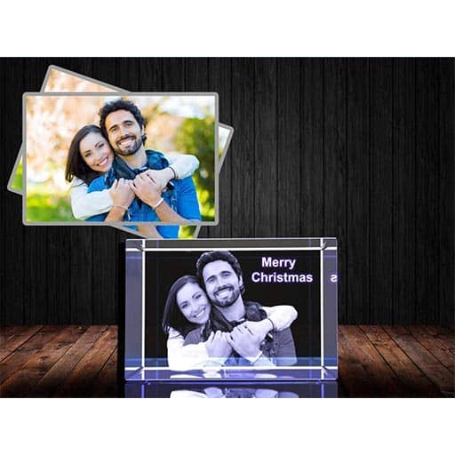 Personalized Custom 3D Holographic Photo engineers gifts