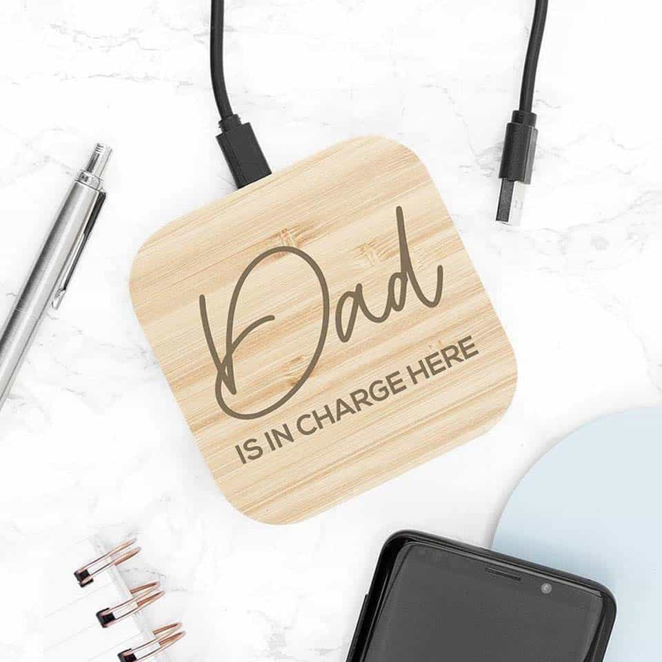 Personalized Wireless Charger Pad