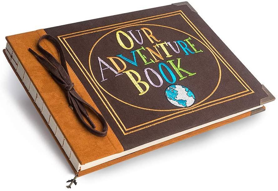 Premium Our Adventure Book Photo Album - 1 year anniversary gifts for girlfriend