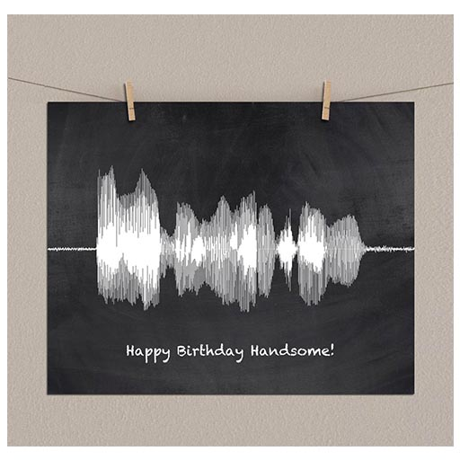 Sound Wave Art Techy Gift engineers gifts
