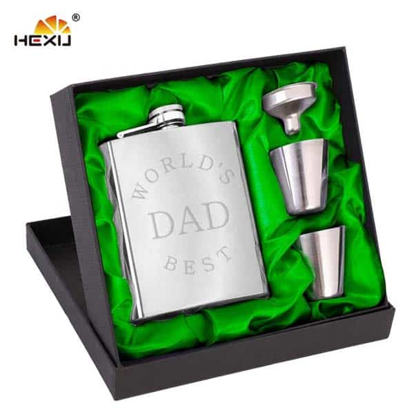Stainless Steel Hip Flask - great cheap fathers day gifts