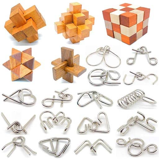 The Puzzles 21Pcs Unlock engineers gifts