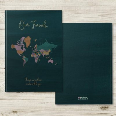 wife anniversary gifts: Travel Journal Notebook