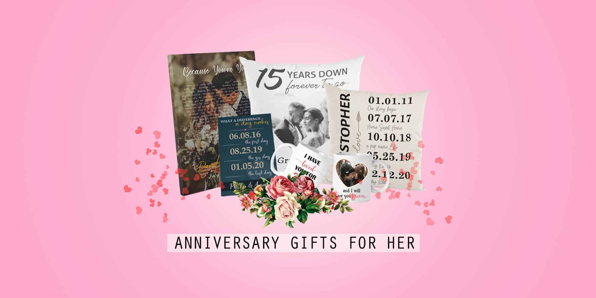 45 Best Anniversary Gift Ideas for Her That She'll Love (2021)
