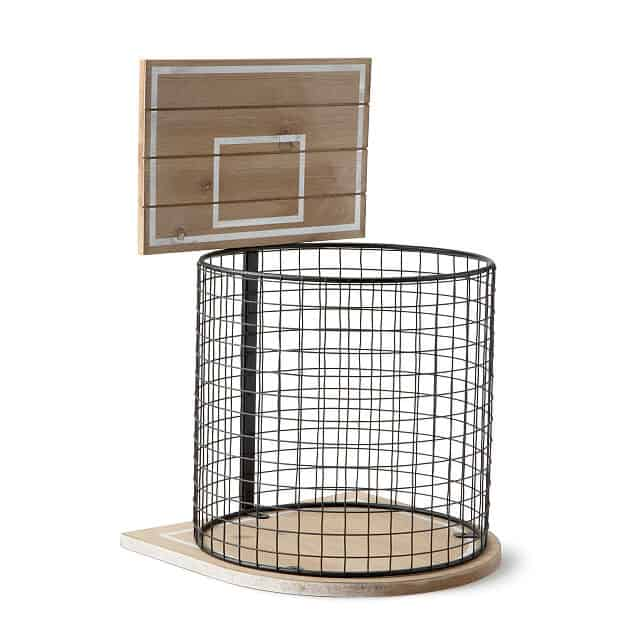fun housewarming gift idea: basketball wastebasket
