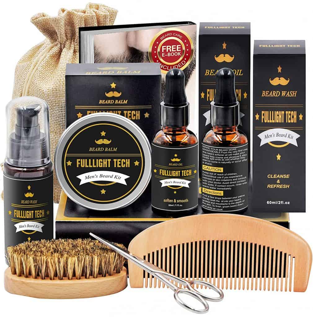 ideas for anniversary gift for him: beard care kit