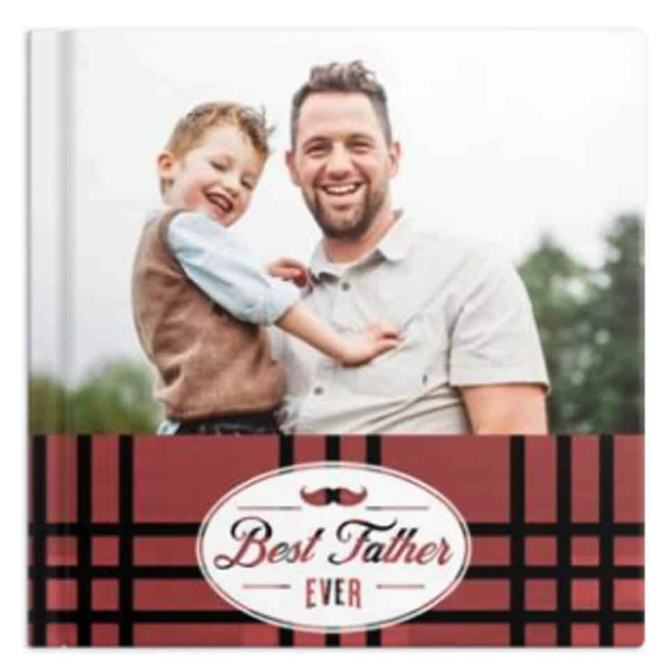 personalized fathers day gifts - Custom Photo Book