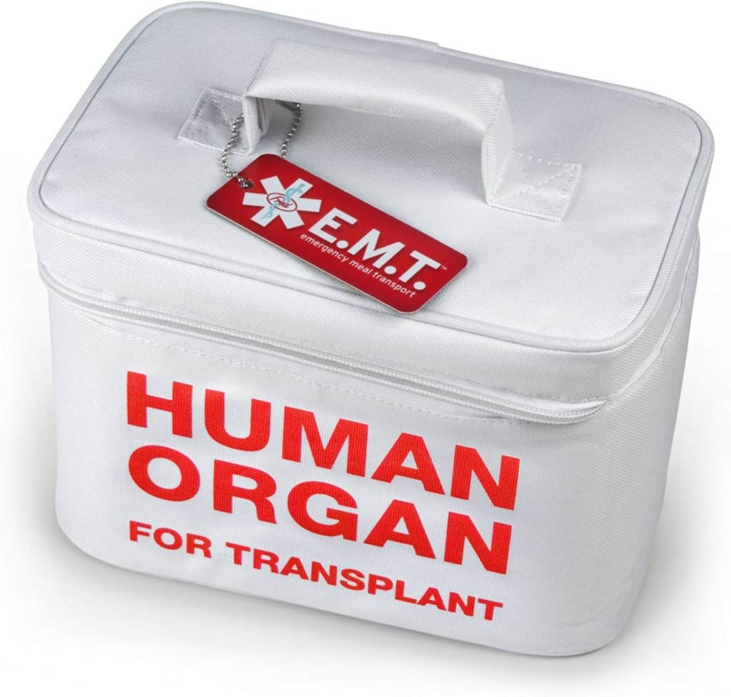 funny but useful gifts: emt insulated lunch tote