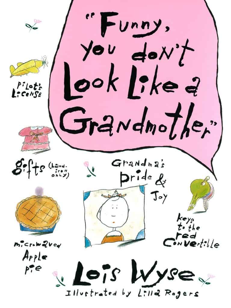 new grandma gift ideas: funny you don't look like grandmother book