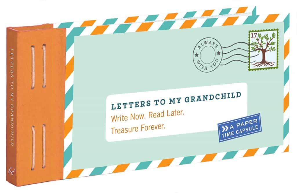 best gifts for new grandma: letters to grandchild