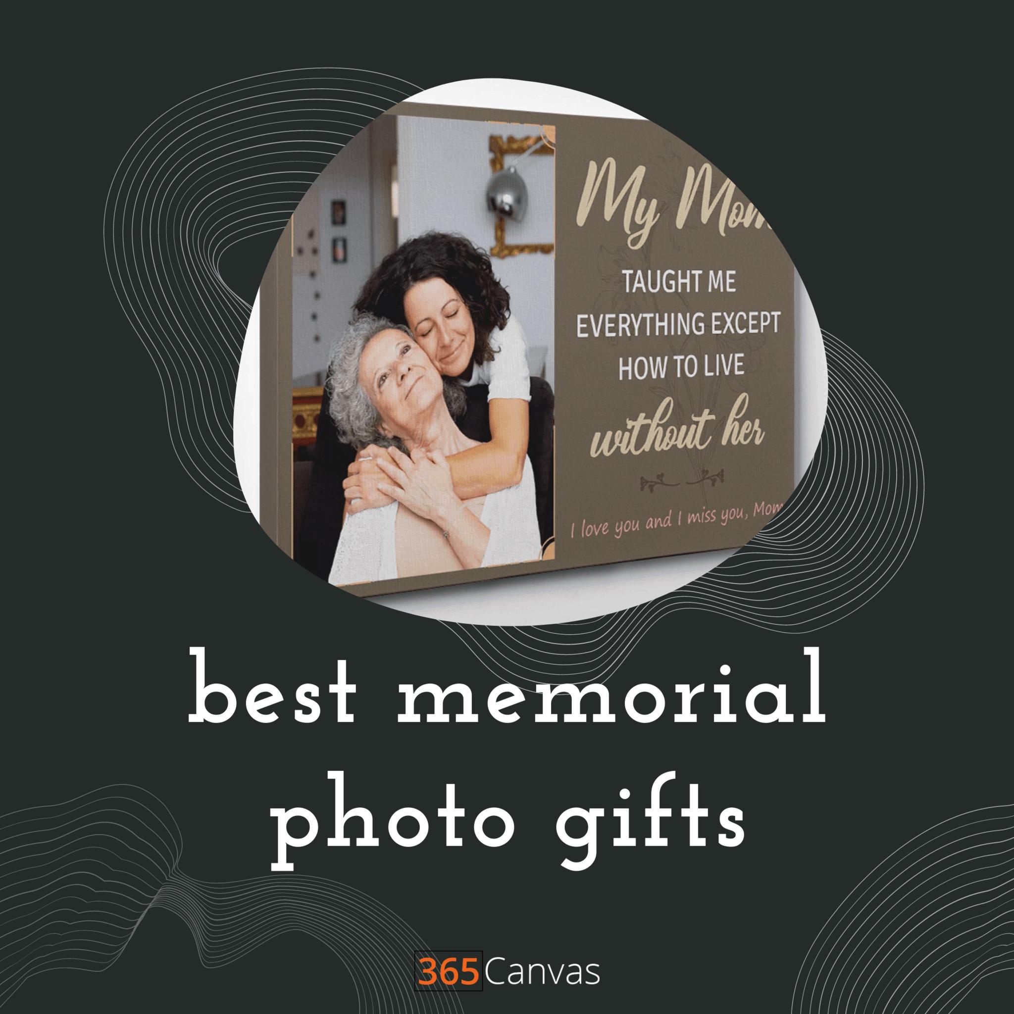 Best Memorial Photo Gifts