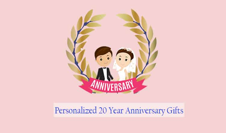 Personalized 20th Anniversary Gifts for Couples