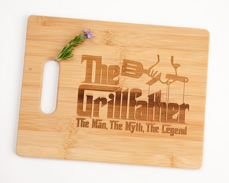 the grillfather wooden cutting board