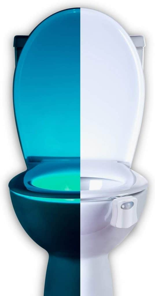 toilet bowl night light