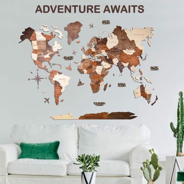 https://www.amazon.com/Enjoy-Wood-Christ3D Wood World Map: romantic birthday ideas for boyfriend