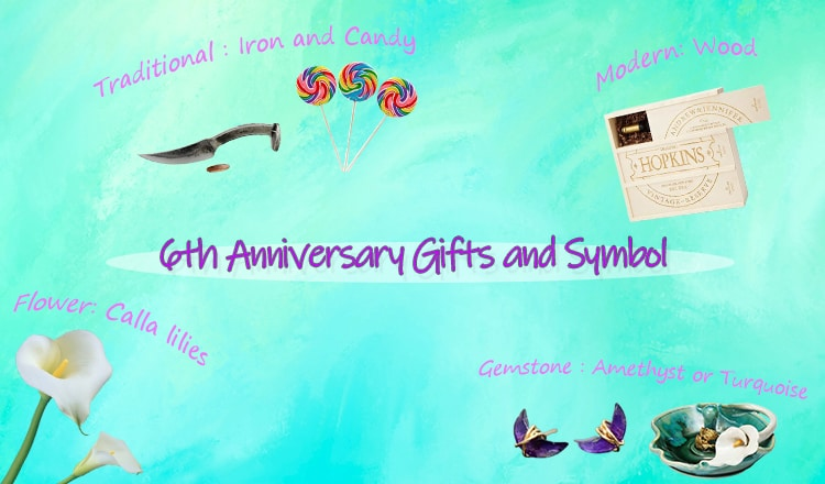 40+ Special 6-Year Anniversary Gift Ideas For Your Iron Anniversary (2021)