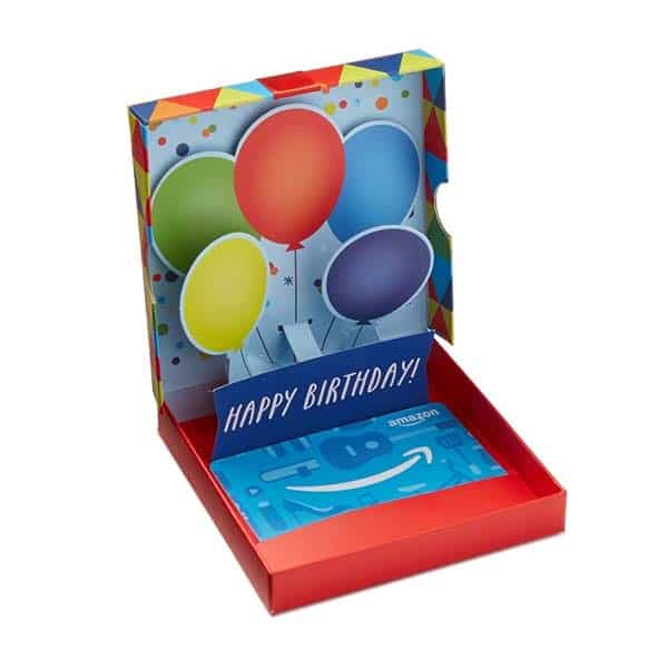 Amazon Gift Card: unique birthday gifts for him