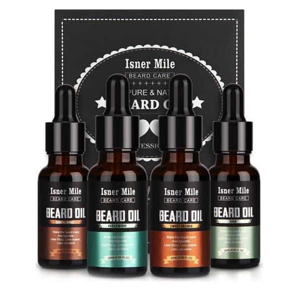 Beard Oil Set: unique birthday gifts for him