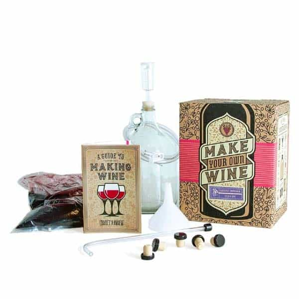 Beginner Wine Kit: surprise birthday gift for boyfriend