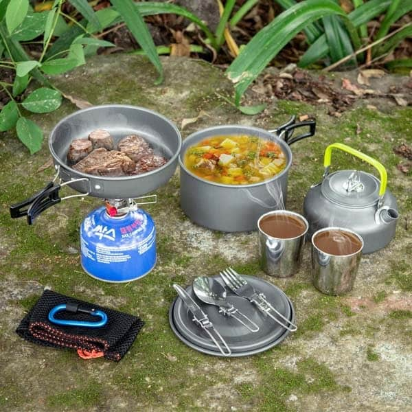 https://www.amazon.com/Odoland-Camping-CookwaCamping Cookware Kit: birthday presents for boyfriend