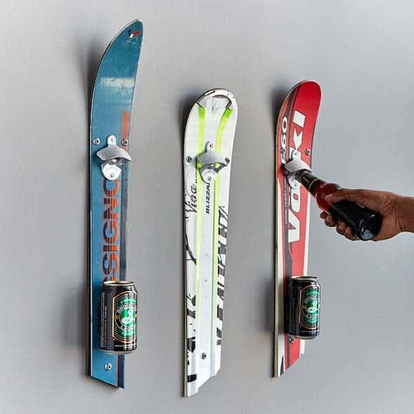 Recycled Ski Bottle Opener