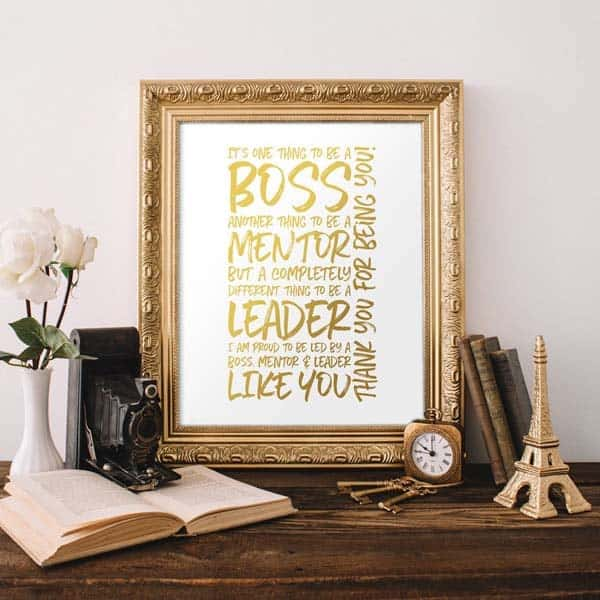We're Proud To Be Led By You Wall Art