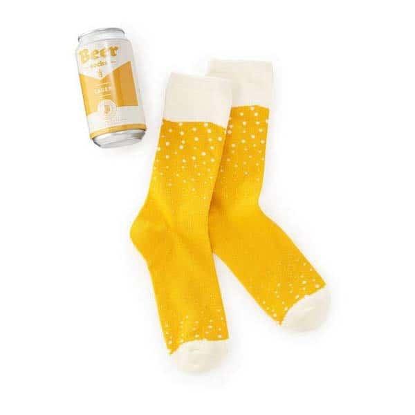 https://Beer-Inspired Socks: surprise birthday gift for boyfriend