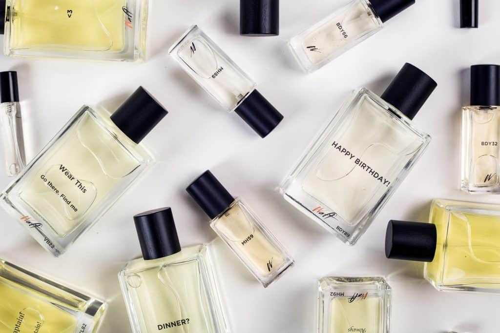 make your own fragrance from Waft