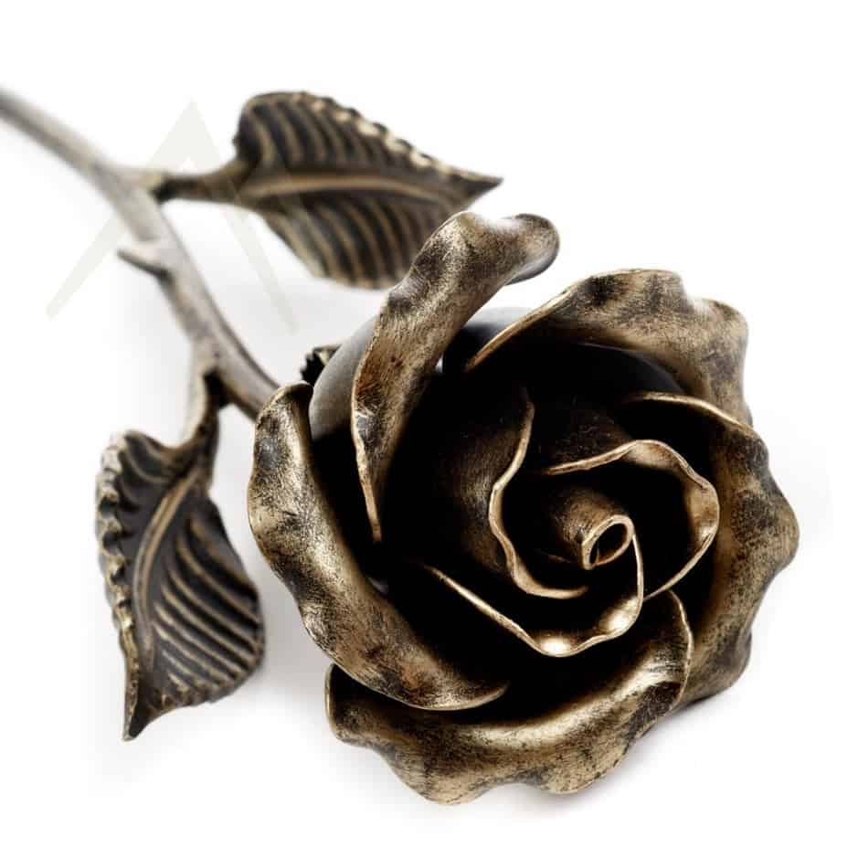 bronze rose - traditional 8-year anniversary gift