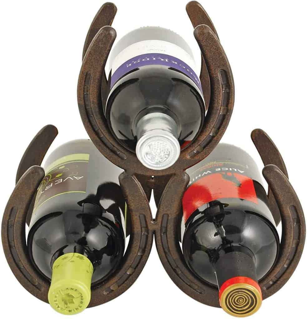 wine rack - gifts for horse lovers